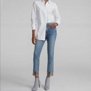 🌸Rag & Bone Bilbury ankle cigarette jeans size 27